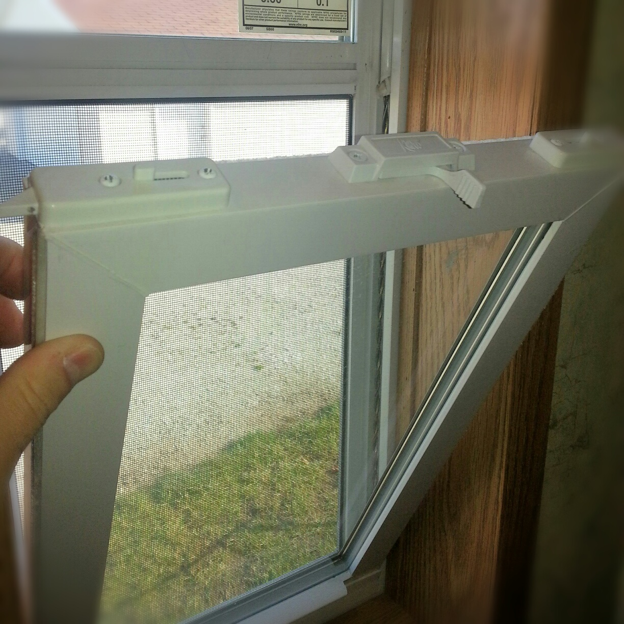 Residential Thermal-Pane Windows Standard. (Double-Pane Insulated)