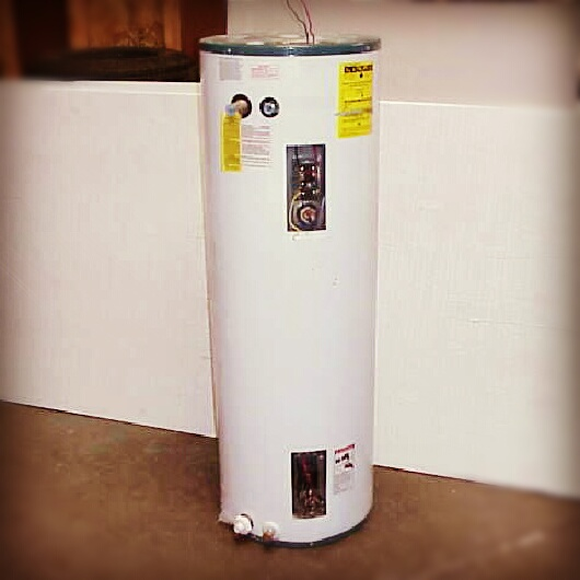 50 Gallon Hot Water Heater Standard. Many of our competitors only provide a 30 Gallon.